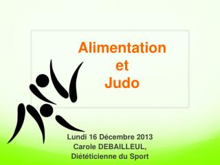Alimentation  et  Judo