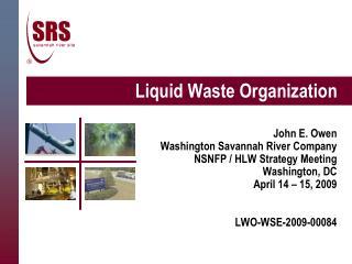 Liquid Waste Organization