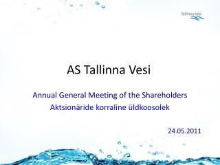 AS Tallinna Vesi