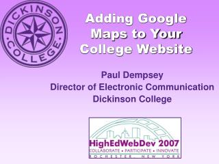 Adding Google Maps to Your College Website
