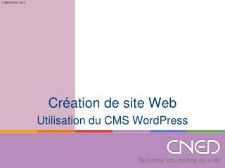 Cr�ation de site Web