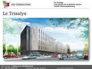 Le Trisalys  416 Avenue de la Division Leclerc 92290 Châtenay-Malabry