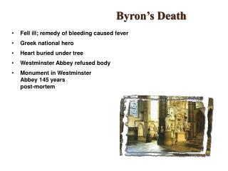 Byron's Death