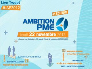 Live  Tweet   #JAP2012