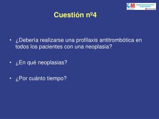 Cuestión nº4