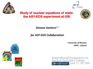 Study of nuclear equations of state: the ASY-EOS experiment at  GSI
