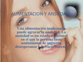 ALIMENTACION Y ANSIEDADD