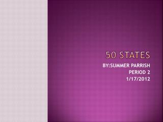 50 STATES