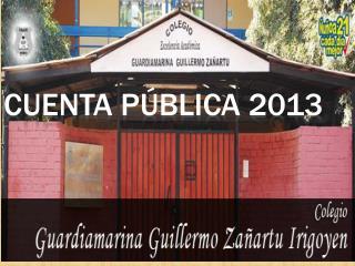 Cuenta Pública 2013