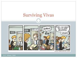 Surviving Vivas
