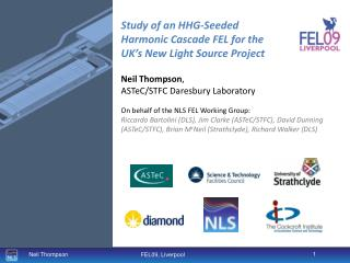 Study of an HHG-Seeded Harmonic Cascade FEL for the UK's New Light Source Project