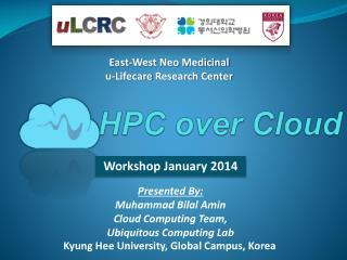 HPC over Cloud