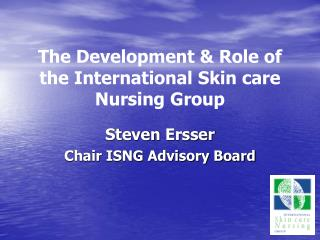 PowerPoint presentation on the history of ISNG