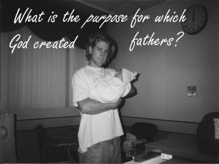 What is the  purpose  for which God  created