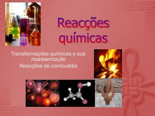 Reac��es qu�micas