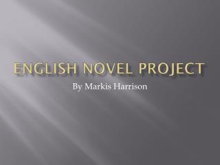 English Novel Project