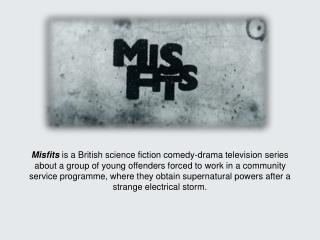 Misfits  Characters