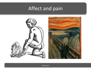 Affect  and pain