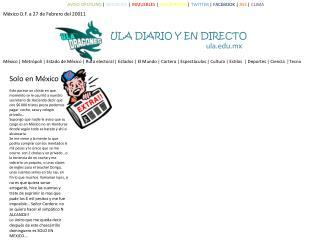 ULA DIARIO Y EN DIRECTO