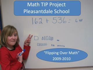 Math TIP Project Pleasantdale  School