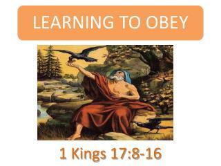 1 Kings 17:8-16