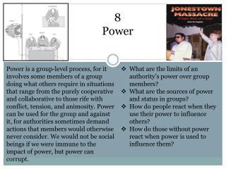 8 Power