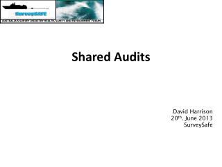 Shared Audits