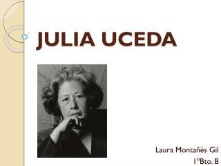 JULIA UCEDA