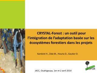 JACC, Ouahigouya , 1er et  2 avril 2014