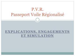 P.V.R. Passeport Voile Régionalisé