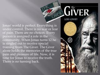 Understanding  The Giver