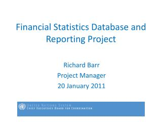 Financial Statistics Database and Reporting Project