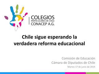Chile sigue esperando la  verdadera reforma educacional
