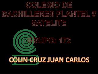 COLIN CRUZ JUAN CARLOS