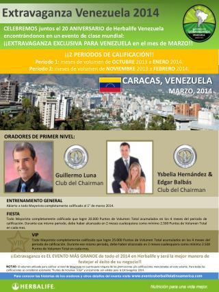 ENTRENAMIENTO GENERAL Abierto a todo Mayorista completamente calificado al 1° de marzo 2014.
