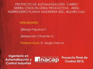 PROYECTO DE AUTOMATIZACIÓN  CARRO