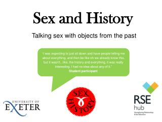 Sex and History