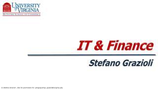 IT & Finance
