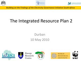 The Integrated Resource Plan 2