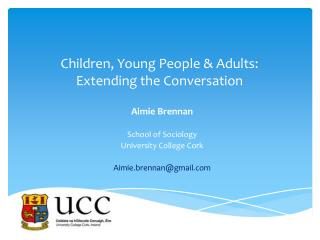 Children, Young People & Adults: Extending the Conversation