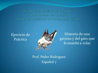 Prof. Pedro  Rodríguez Español  7