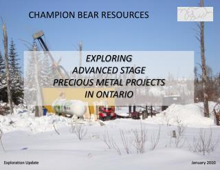 CHAMPION BEAR RESOURCES