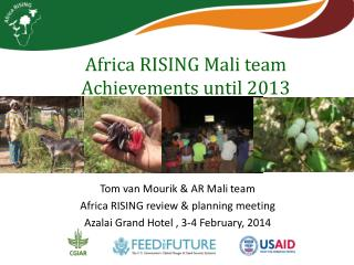 Africa RISING Mali team  Achievements until 2013