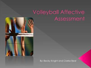 Volleyball Affective Assessment