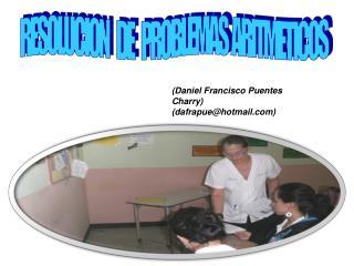 RESOLUCION    DE    PROBLEMAS  ARITMETICOS