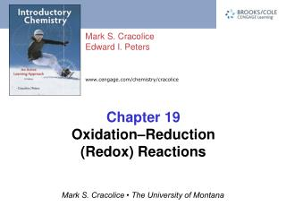 Chapter 19 Oxidation–Reduction (Redox) Reactions