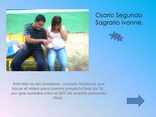 Osorio Segundo Sagrario Ivonne.