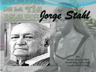 Jorge Stahl