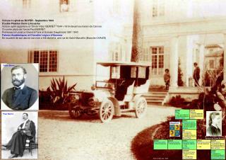 Voiture 4 cylindres BOYER - Septembre 1904  Double Phaéton Demi-Limousine