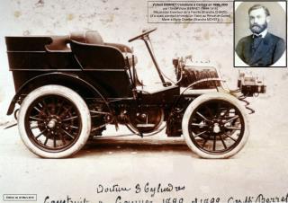 Voiture BERRET Construite à Cannes en 1898-1899  par l'Oncle Victor BERRET (1844-1916)